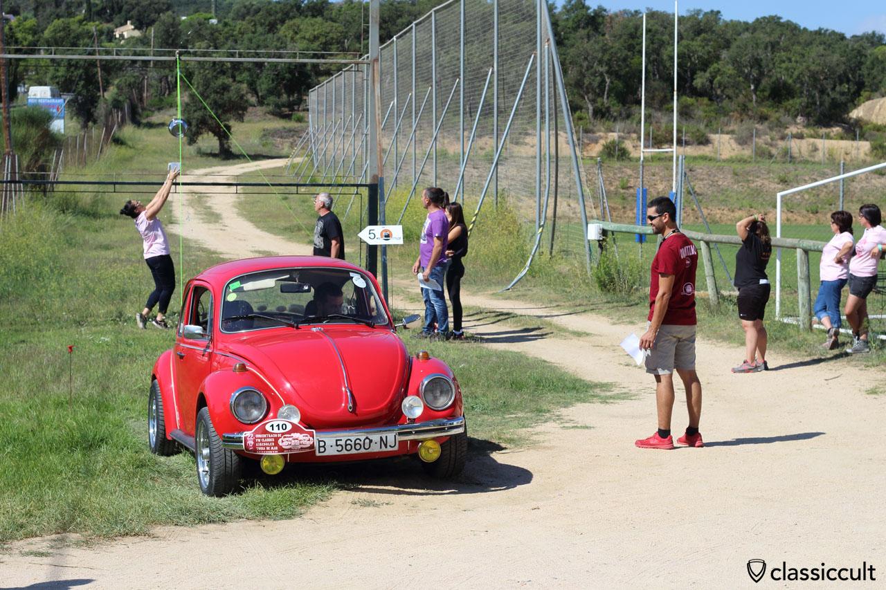 VW driver test, Tossa de Mar Volkswagen Meeting