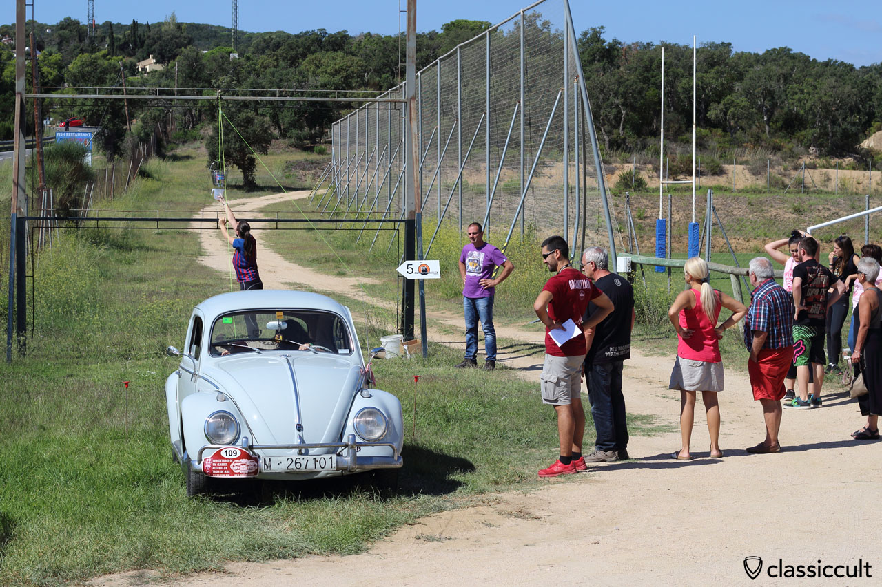VW driver test, Tossa de Mar Volkswagen Meeting 2015