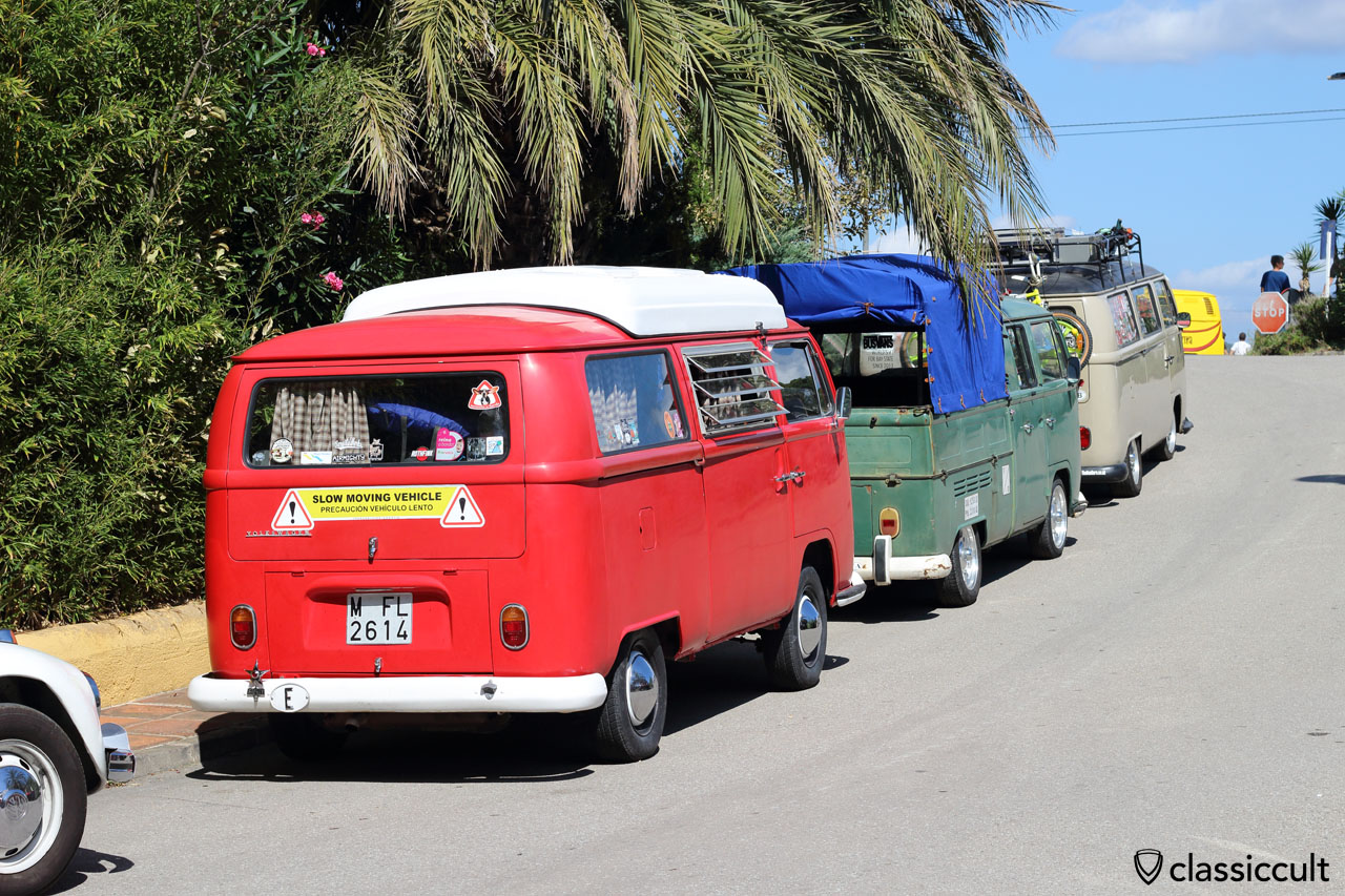 VW T2 Camper, SLOW MOVING VEHICLE