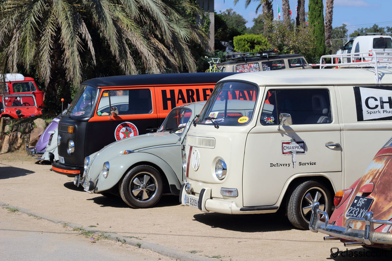 VW parking at Club Aire Libre, 22th Tossa Meeting