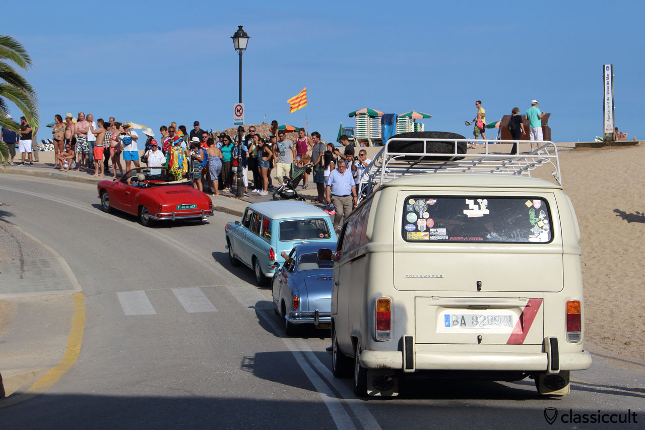 Tossa de Mar Beach, VW Meeting 2015