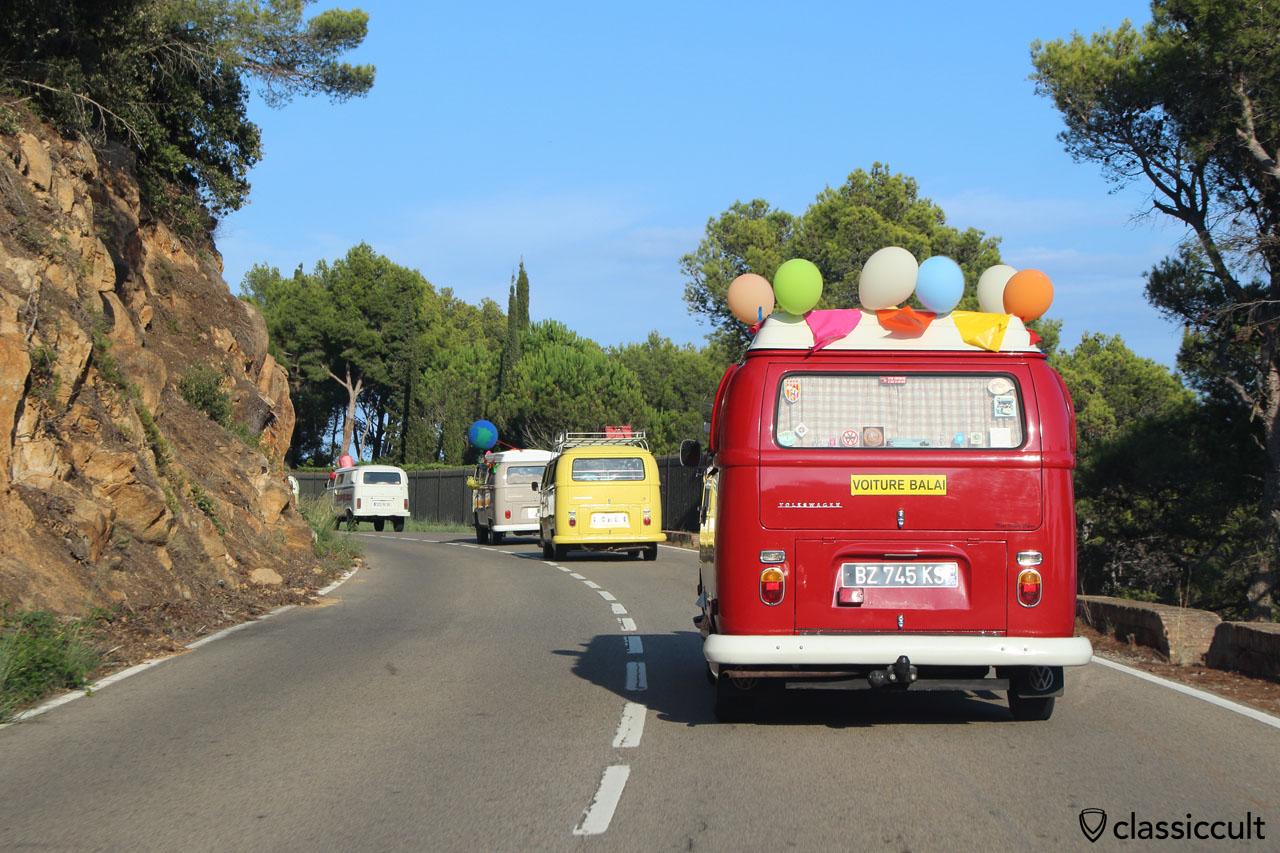 4x VW Bus Costa Brava Rally