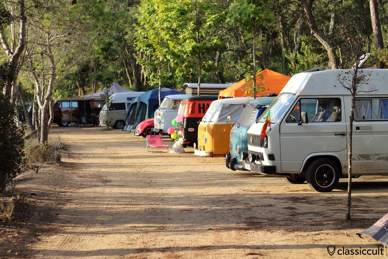 Campground, Tossa de Mar VW Meeting 2015, Sunday, 8:36 a.m.