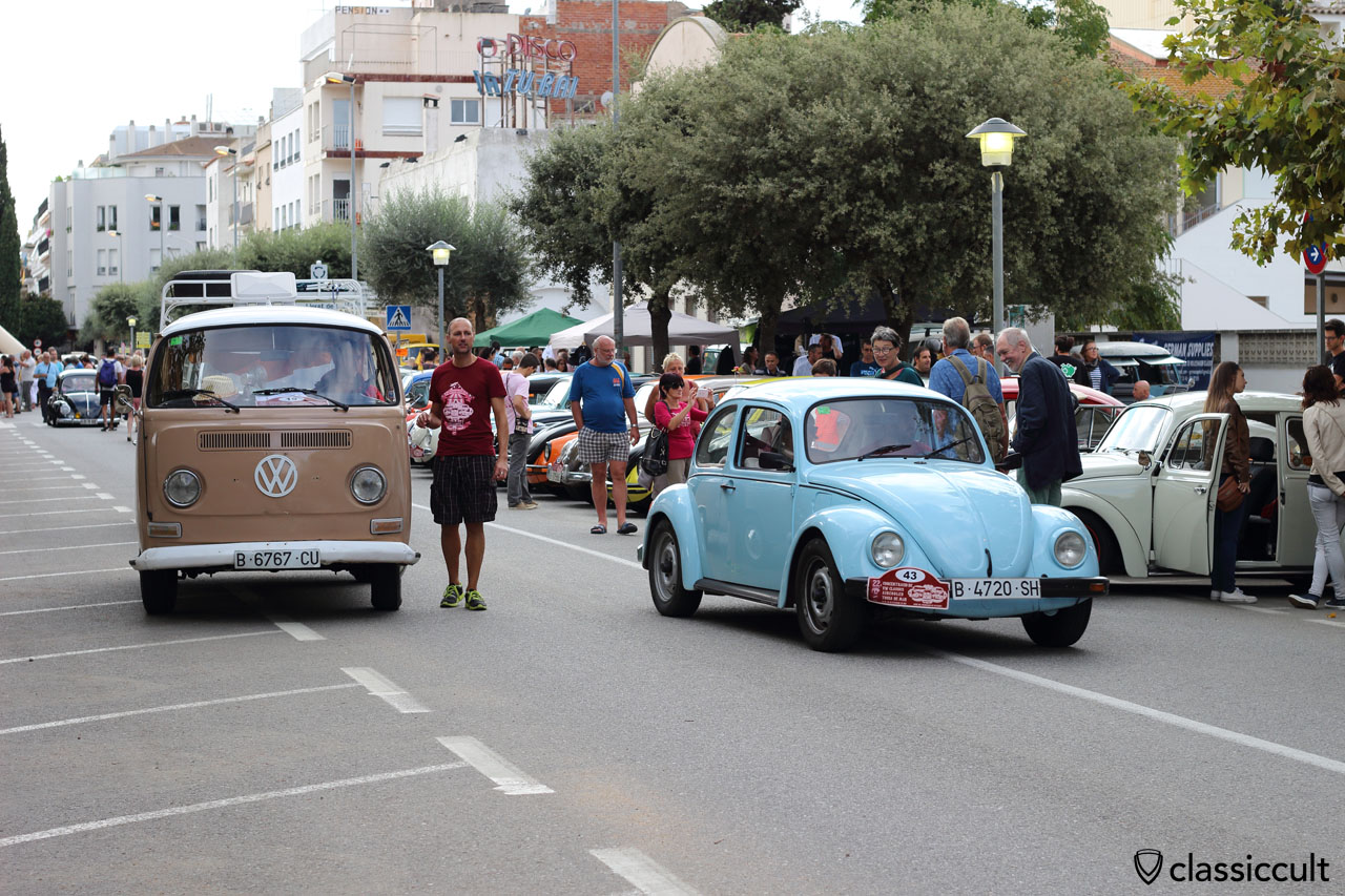 T2 Bus, VW Beetle