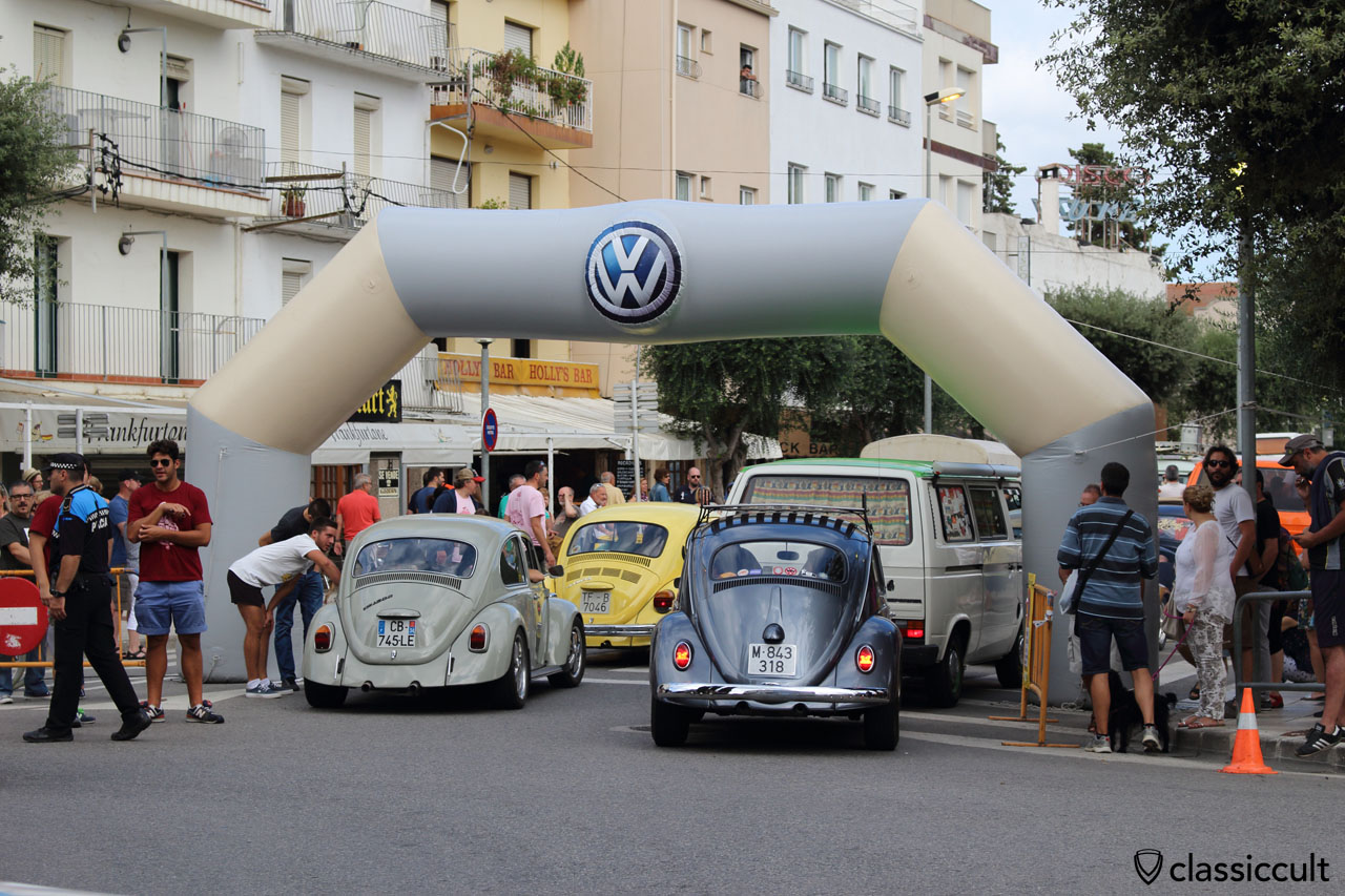 Tossa de Mar Spain VW Show 2015