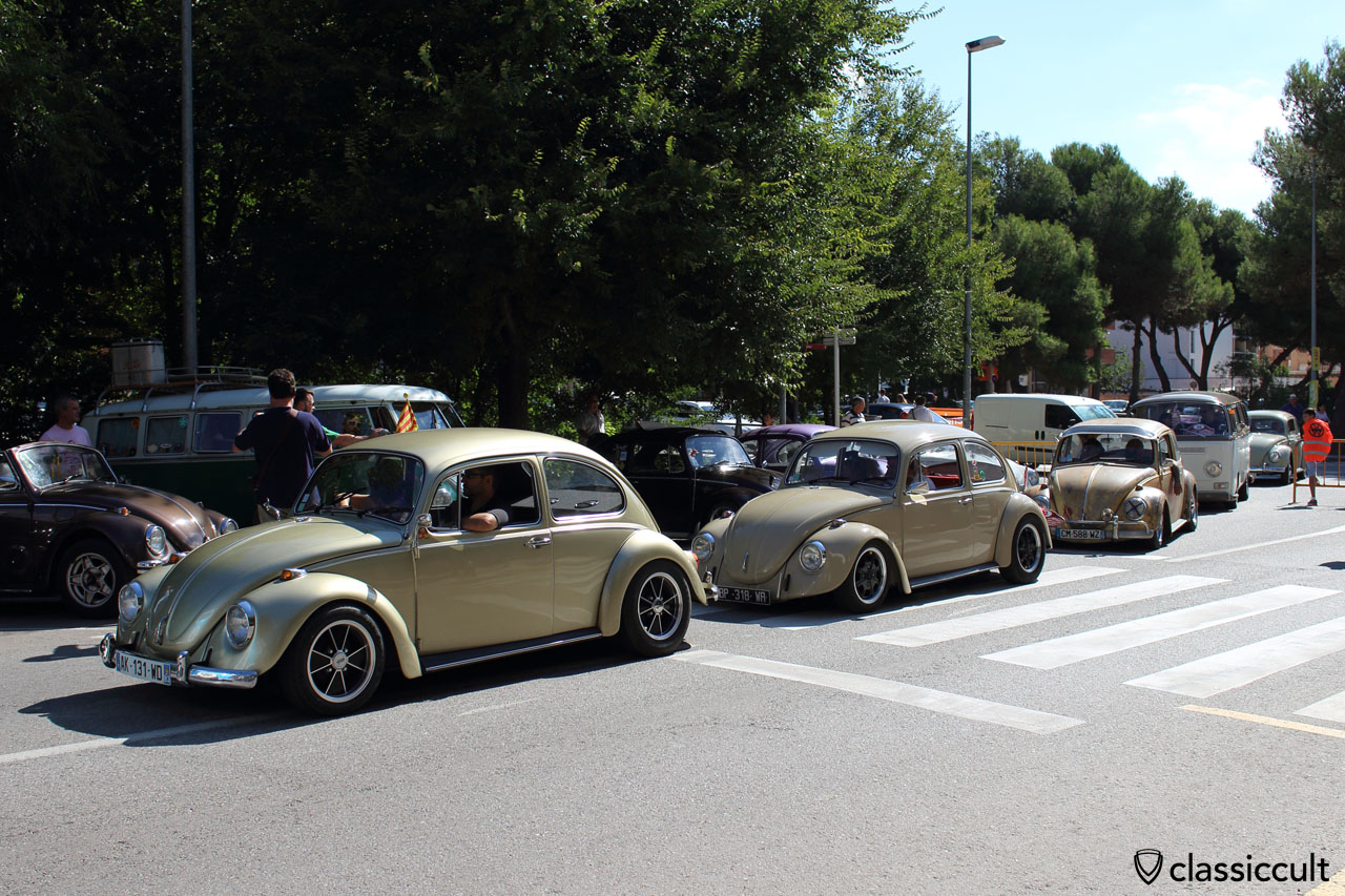 11:46 a.m. and still lots of VWs arriving