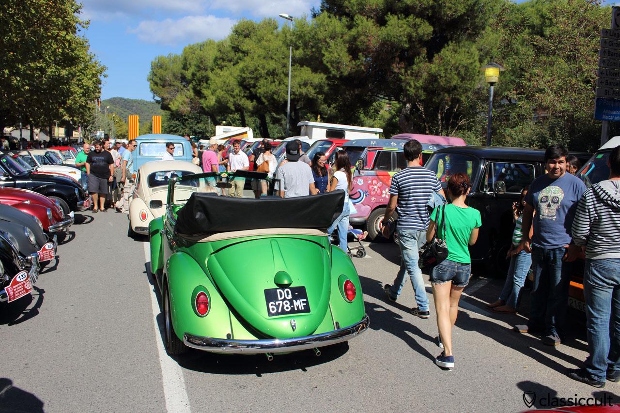 Classic VW Cabrio Beetle