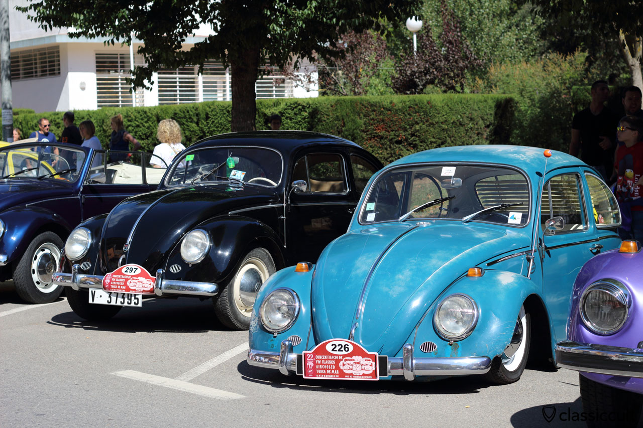 VW Beetle with louvre