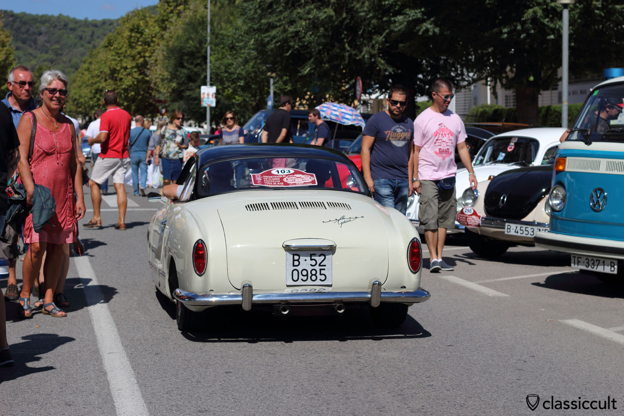 Karmann Ghia rear view