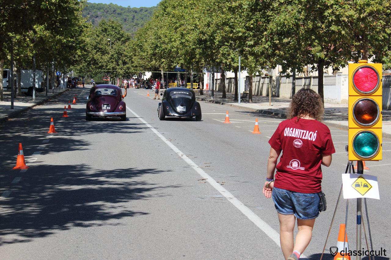 Drag race at Tossa de Mar Classic VW Meeting 2015