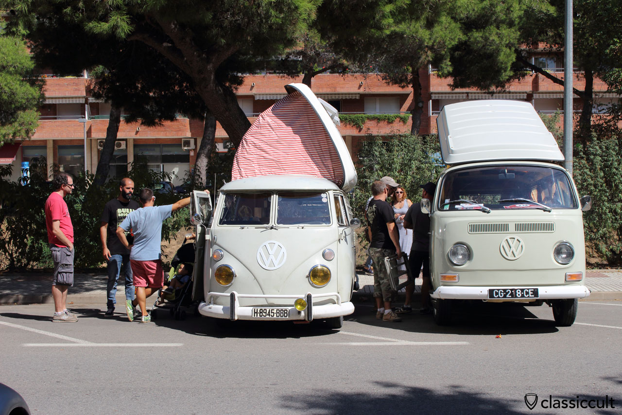 T1 Dormobile and T2a Westy