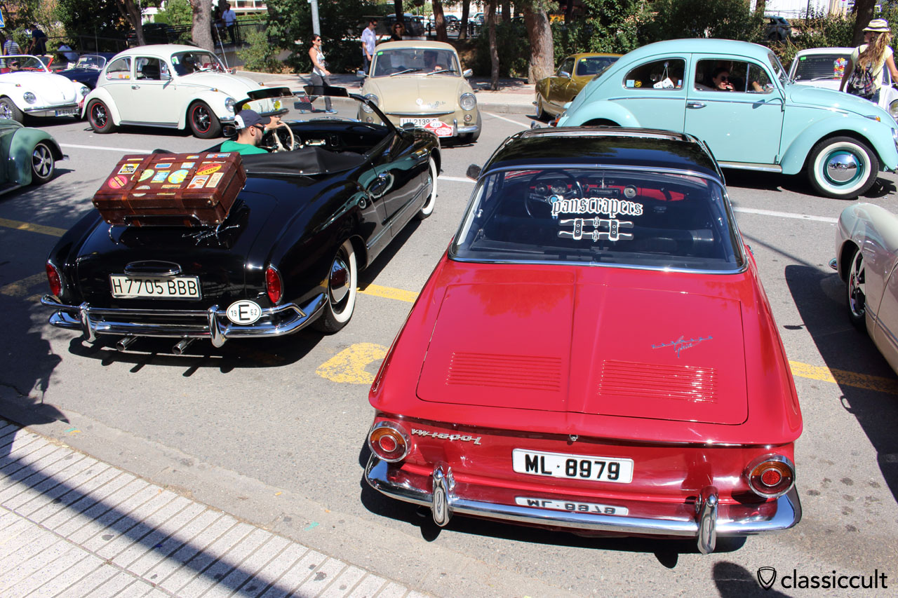 1962 Karmann Ghia Cabrio and Panscrapers Karmann Ghia