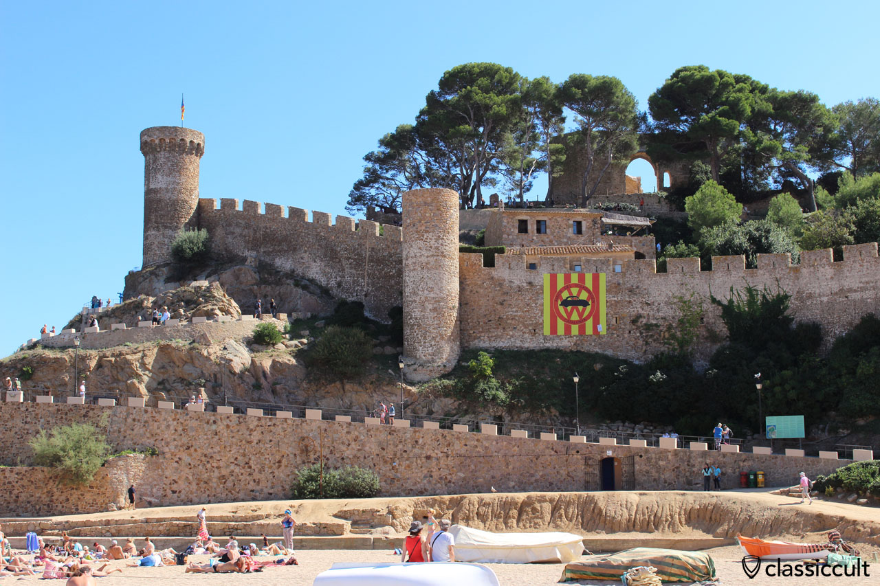 Tossa de Mar fort