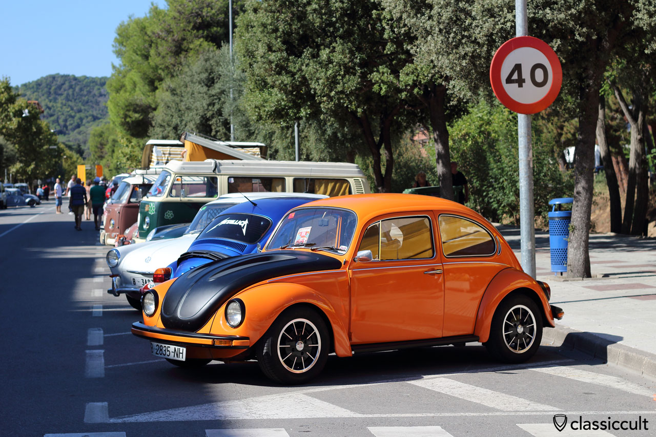 VW Beetle, Tossa de Mar Volkswagen Meeting 2015, Show & Shine area, Sunday, 3:50 p.m.