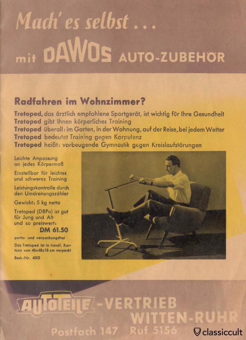 Vintage Accessories Automotive Catalog Germany 1961 Cover Auto-Zubehör