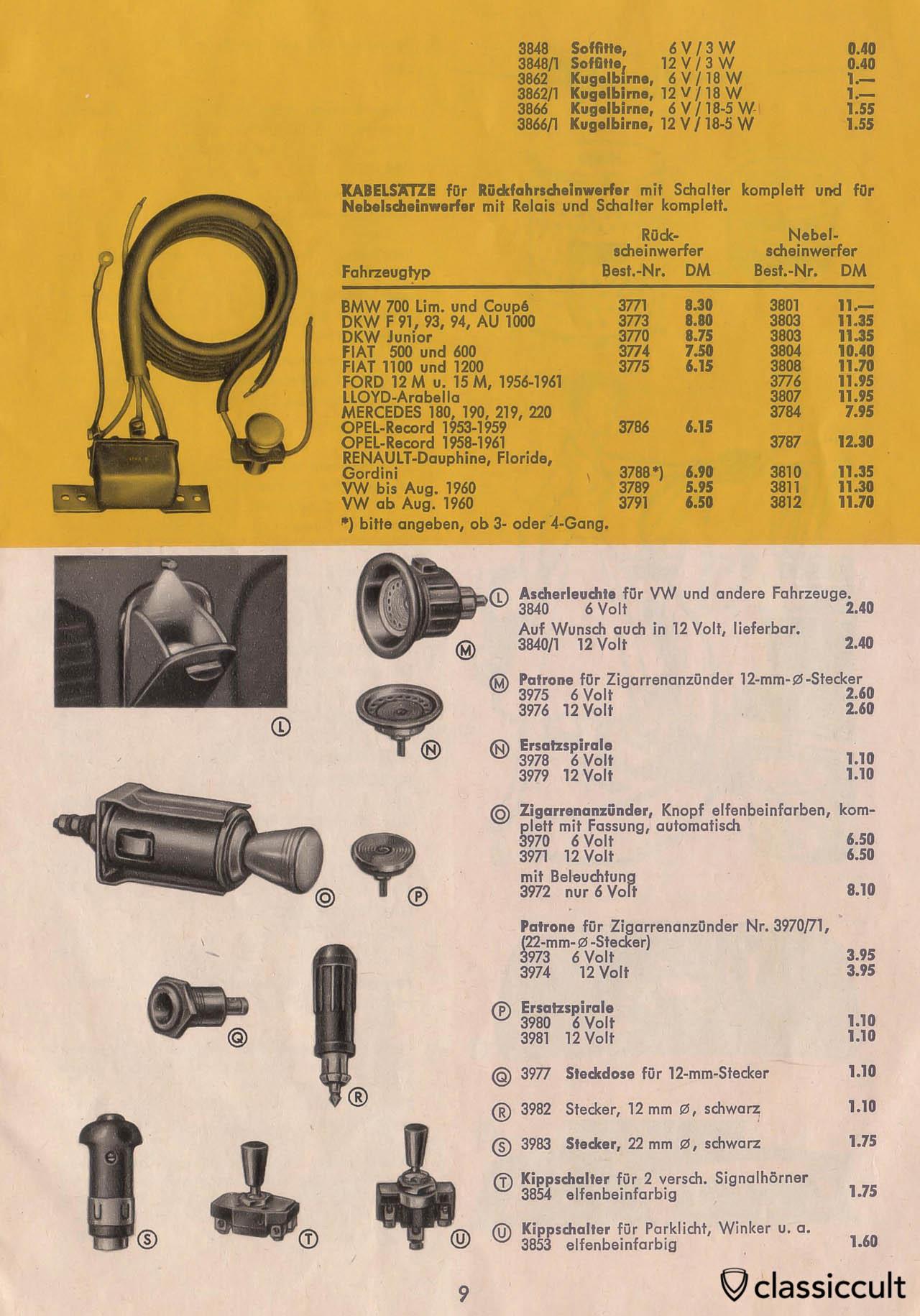 vintage vw beetle accessories catalog   classiccult