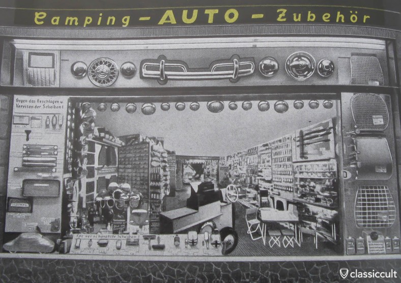 Camping Auto Zubehoer Shop Germany 1959