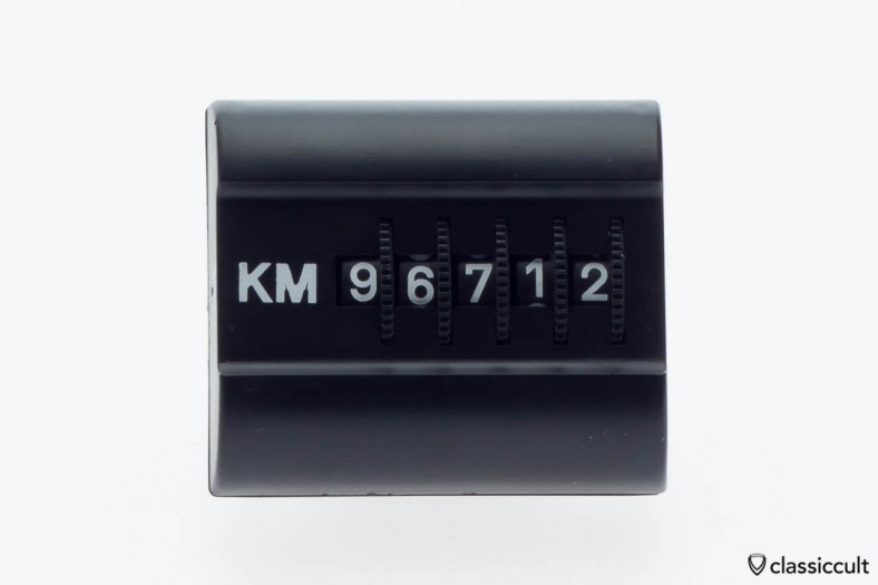 magnetic KM dash trip counter