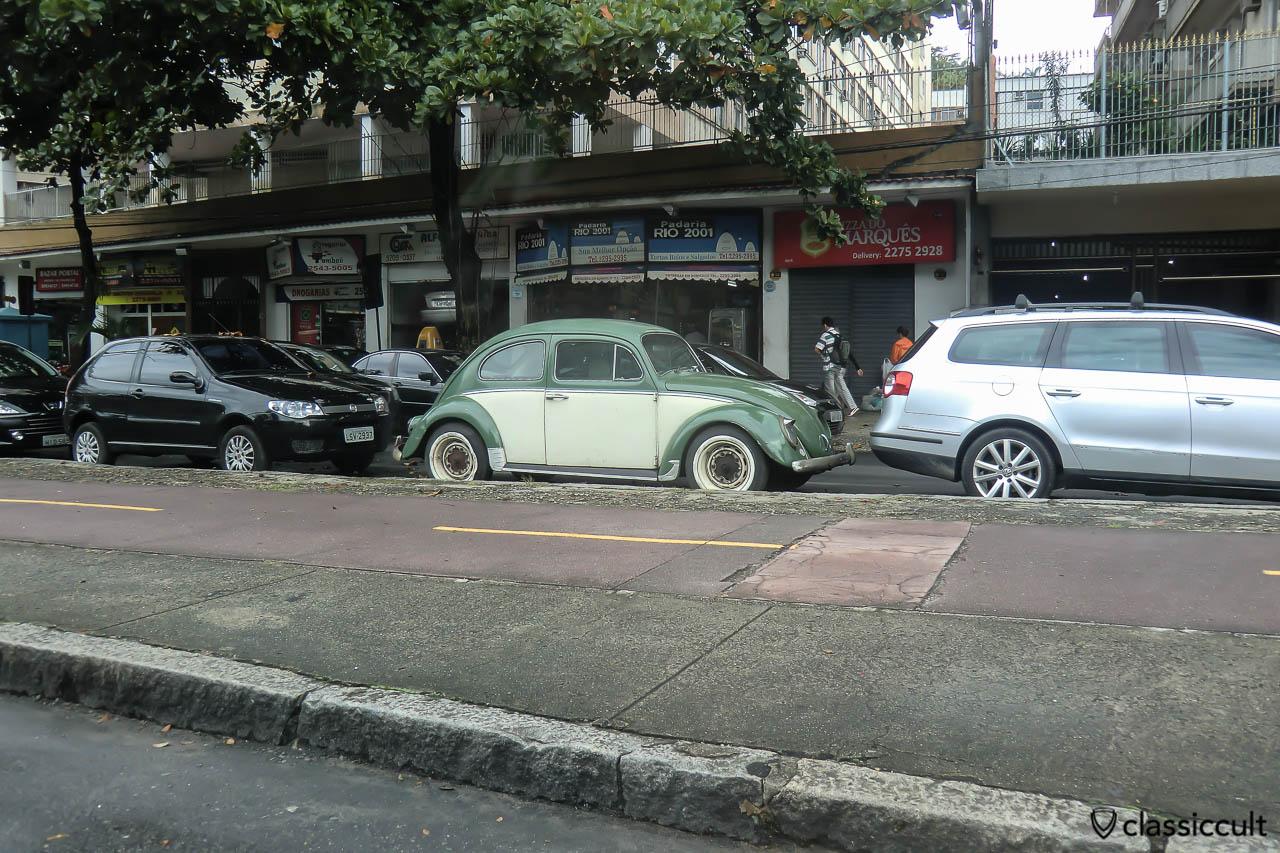 Vintage VW Beetle, Rio de Janeiro, Brazil, May 24, 2013