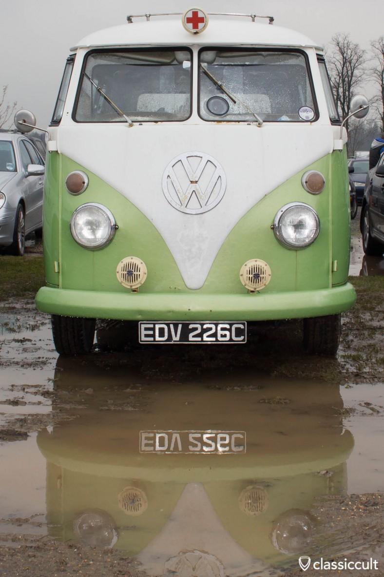 T1 Ambulance mud puddle reflection