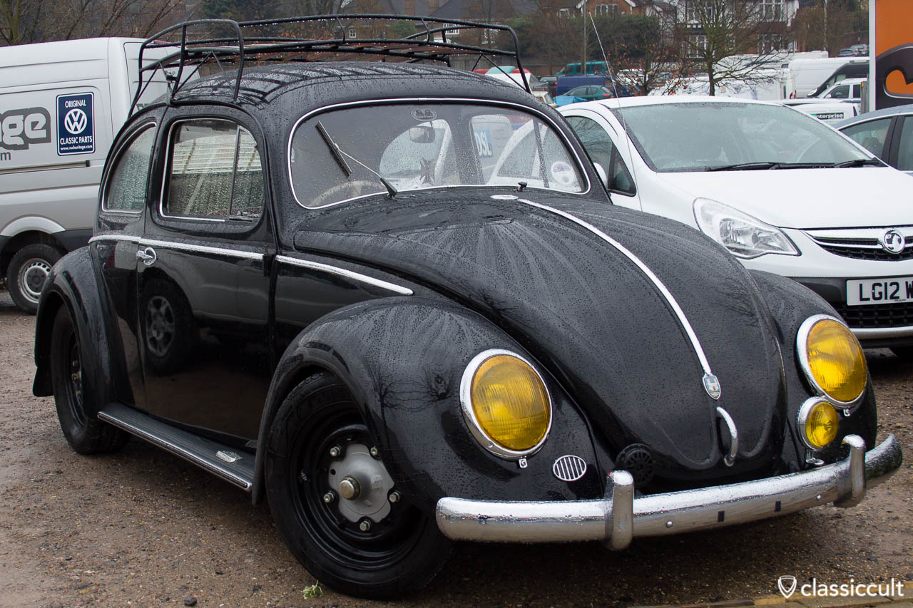 VW Bug with yellow headlight lenses