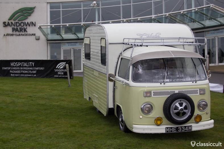 VW T2 caravan camping bus Sandown Park