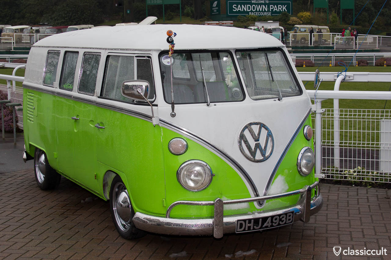 VW Split Bus Sandown Park Esher