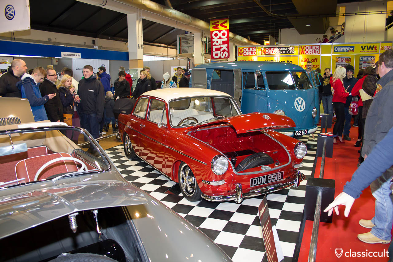 ruby red Type 3 Volksworld Show 2013