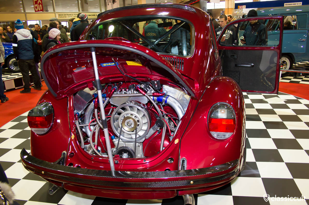 VW beetle with porsche motor