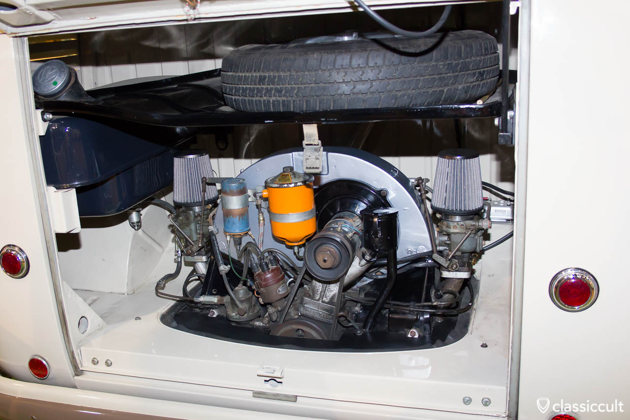 VW Splitscreen Bus motor