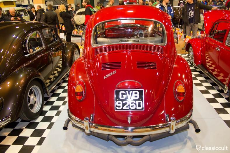 ruby red VW Bug 1300