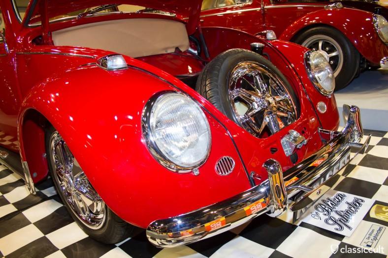 VW Beetle on Fuchs wheels