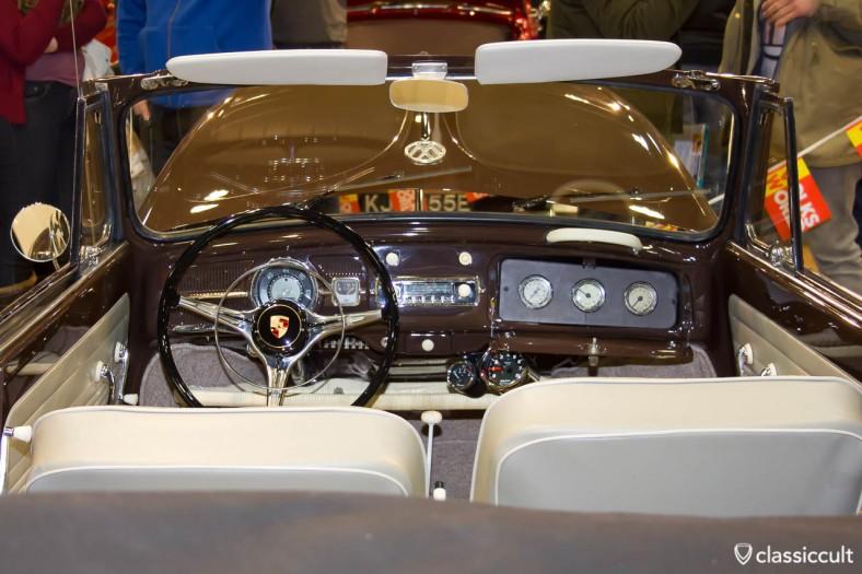 Porsche steering in VW Beetle