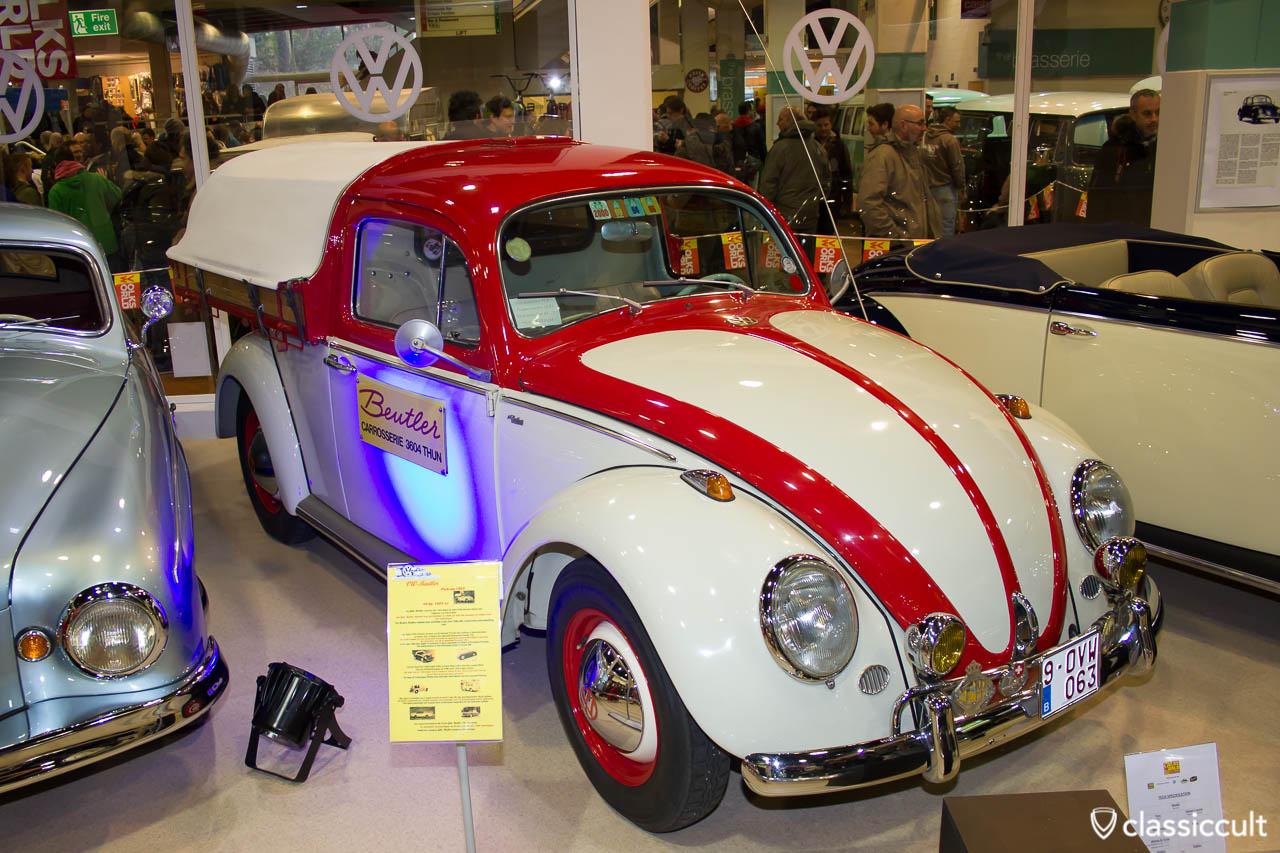 VW Beutler Pick up 1963 coachbuilt