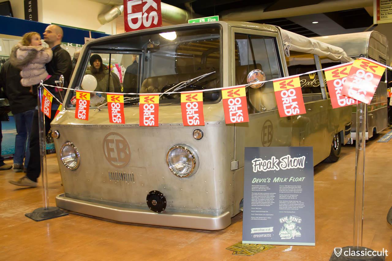 Evil Bens VW Coach built Single Cap