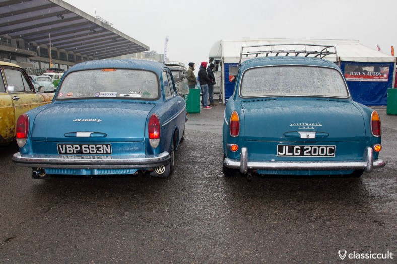 VW Type 3 1600L and 1500 Notchback