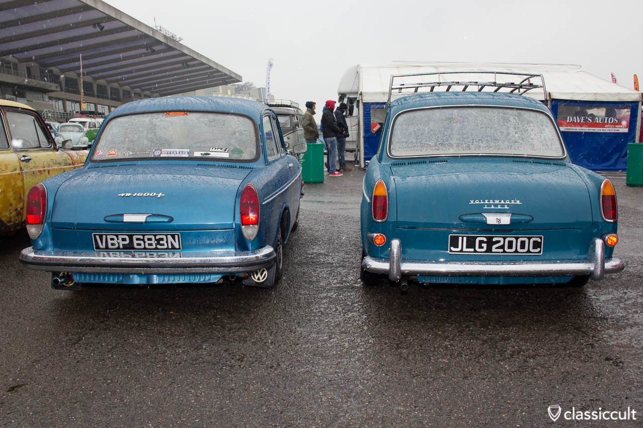 VW Type 3 1600L and 1500 Notchback