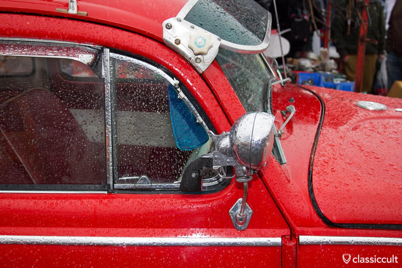 VW Beetle accessory search light mirror