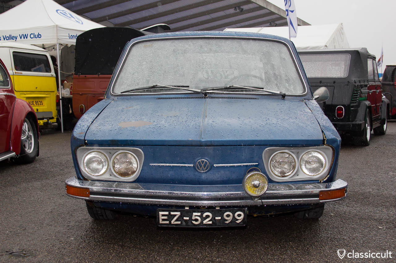 VW Brasilia with fog light