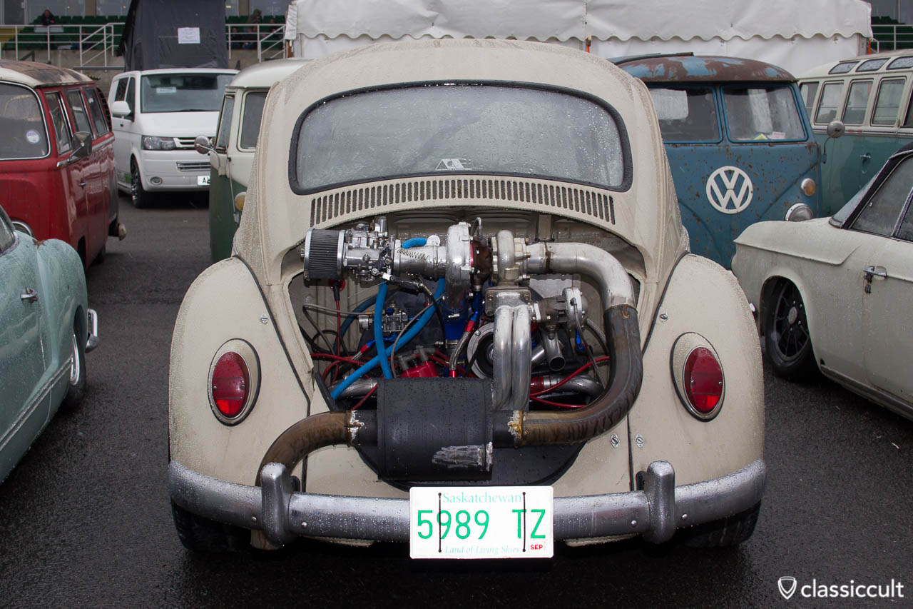 VW beetle with Power