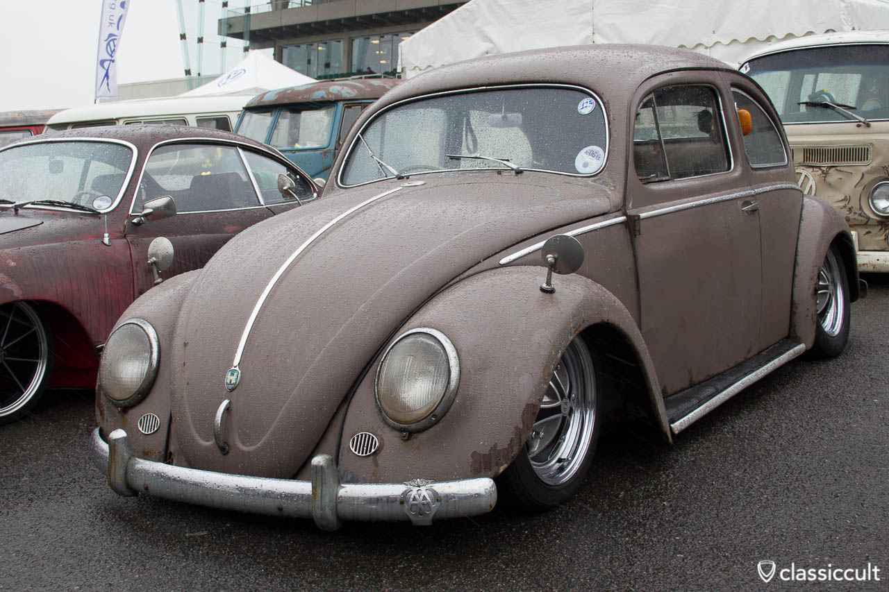 slammed VW Oval