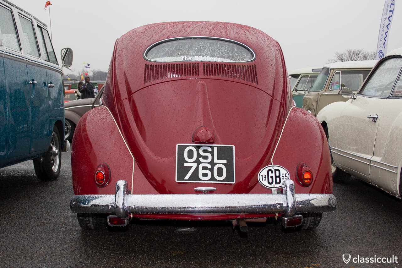 UK VW Oval 1955 The BB49ers