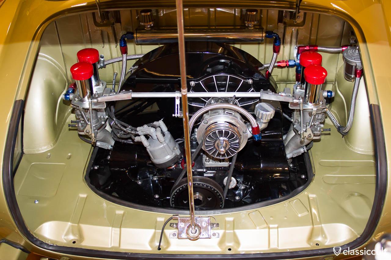 Karmann Ghia with tuned motor