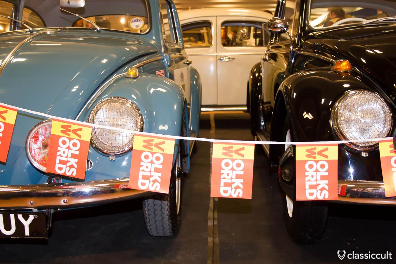 VW bug headlights grilles
