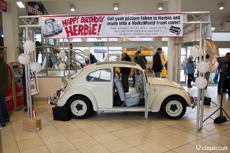 Herbie at Volksworld 2013