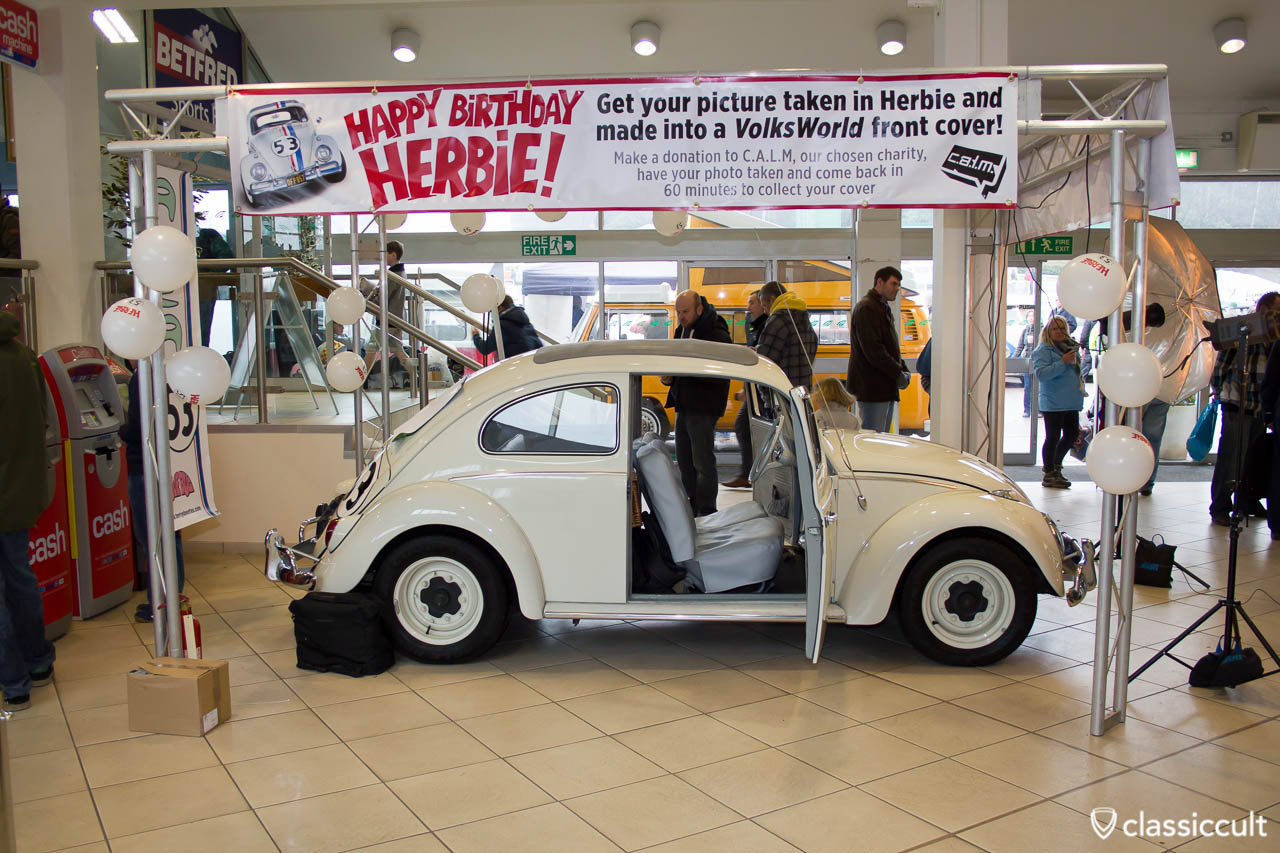 Herbie at Volksworld 2013