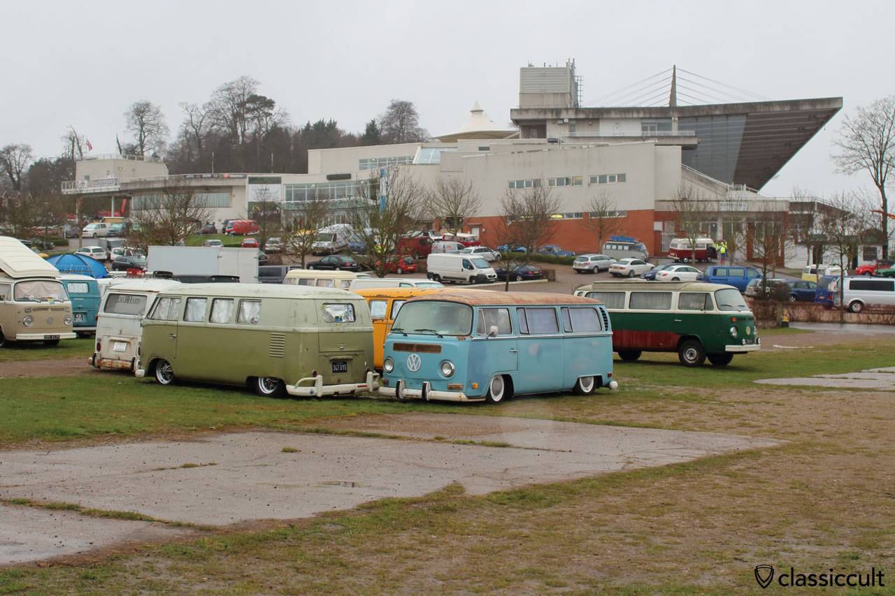 Camping at Volksworld VW Show, Sunday 29th March 2015, 8:19 a.m.