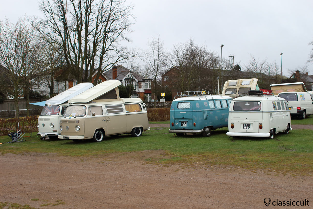 VW Bus Camping, Volksworld Show