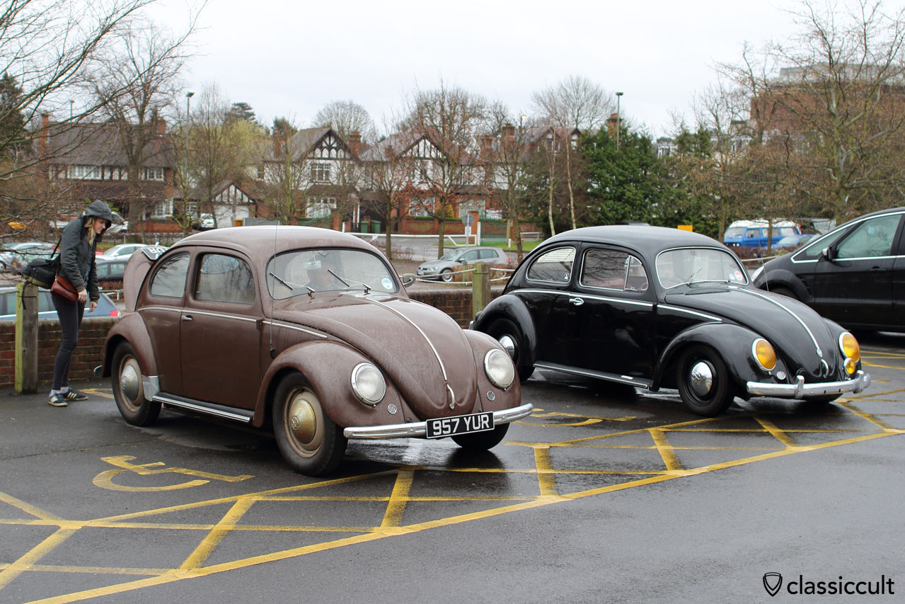 Awesome unrestored Split Beetle imported from Germany, but does not want to start...