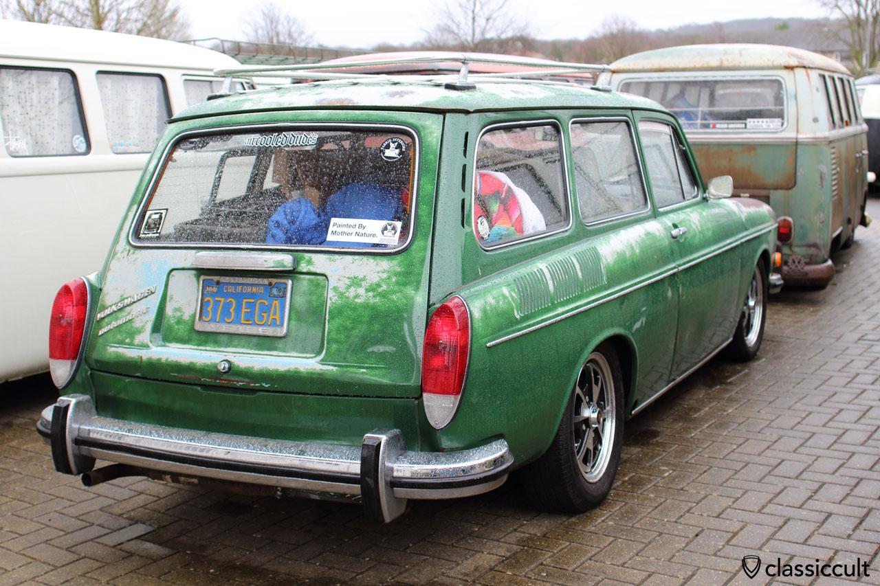 VW Type 3 squareback painted by mother nature, nice patina